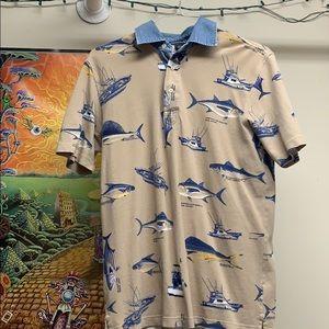 Vintage 1990's Lands End Polo Shirt
